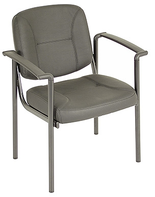 Eurotech Seating Dakota Series Black Vinyl Guest Chair VS8012