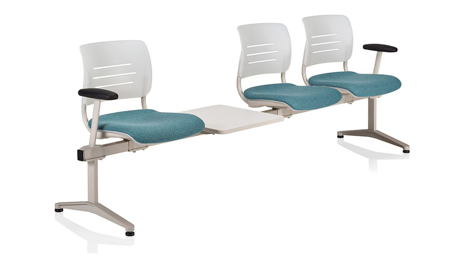 ki grazie 3 person tandem seating configuration with inline table