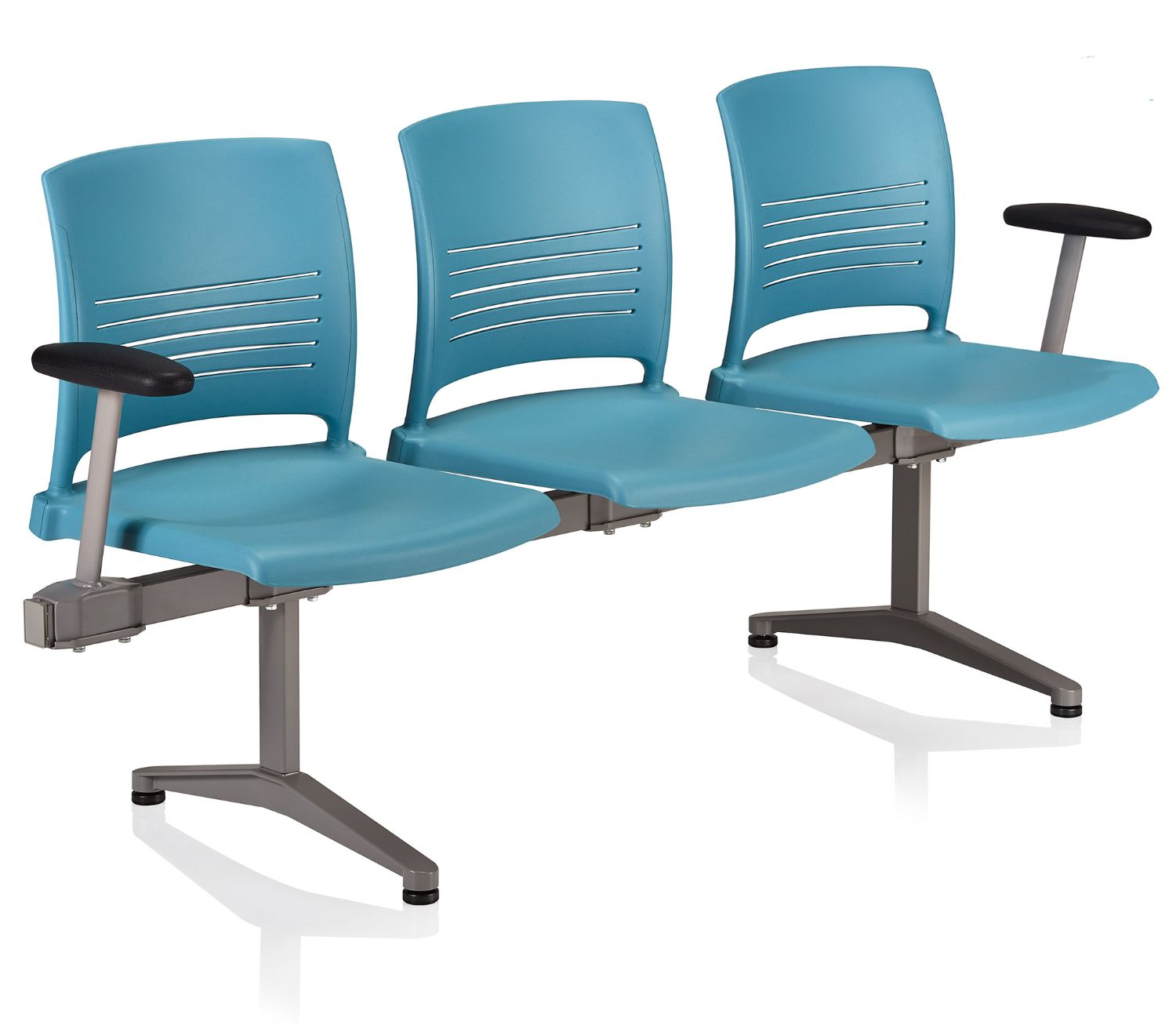 ki strive tandem seating - 3 person with outside arms