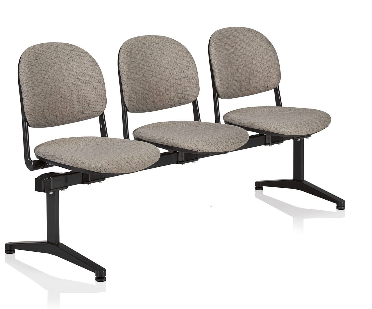 ki torsion tandem seating 3 person beam chair
