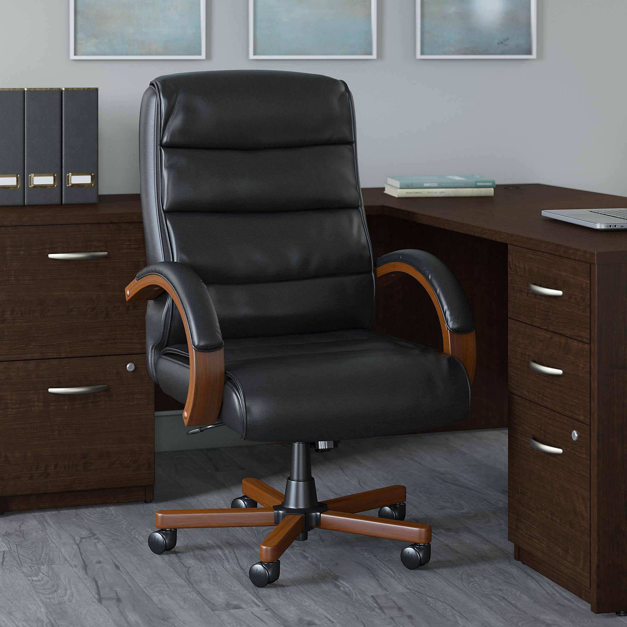bush business furniture soft sense high back executive chair