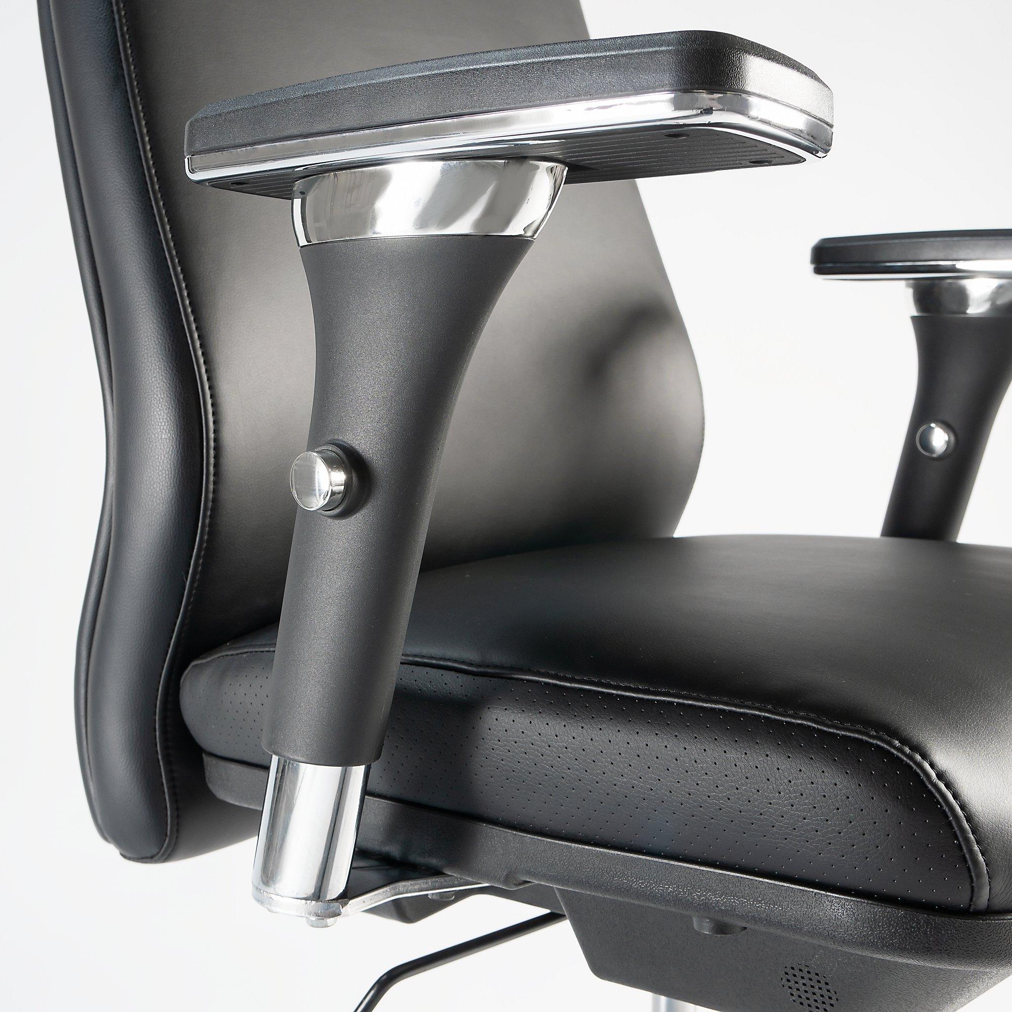 bush business furniture metropolis office chair 4 way adjustable arms