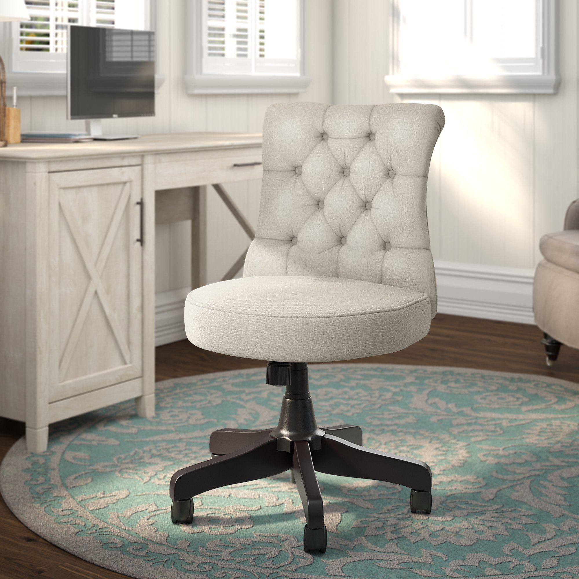 Surprising Bush Business Furniture Arden Lane Mid Back Tufted Office Chair Gmtry Best Dining Table And Chair Ideas Images Gmtryco