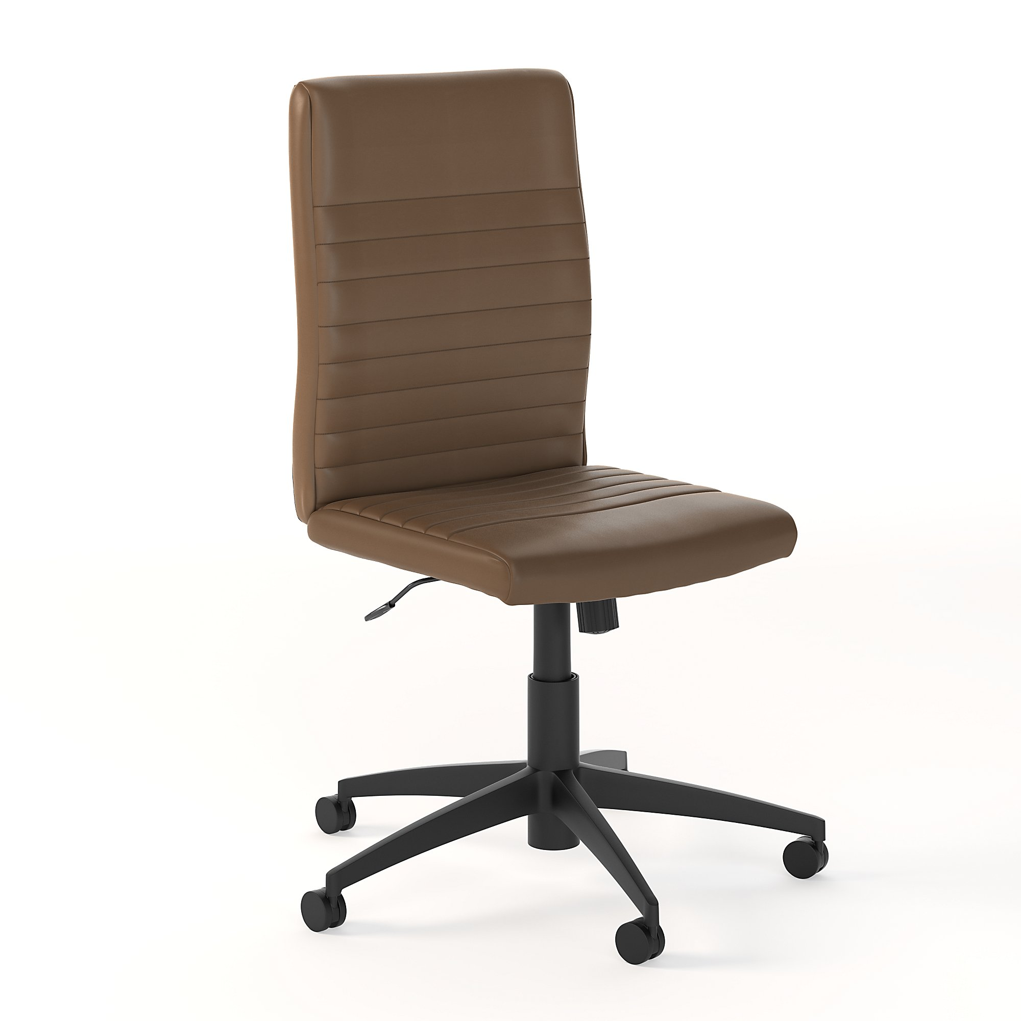 bush business furniture saddle tan archive chair