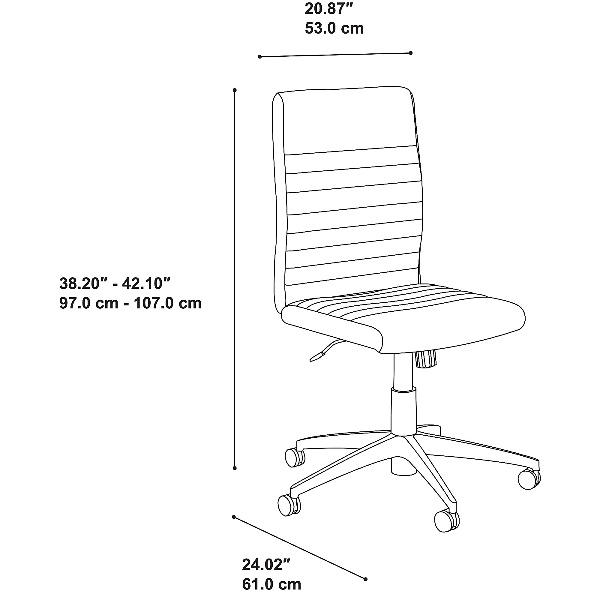 bbf archive chair dimensions