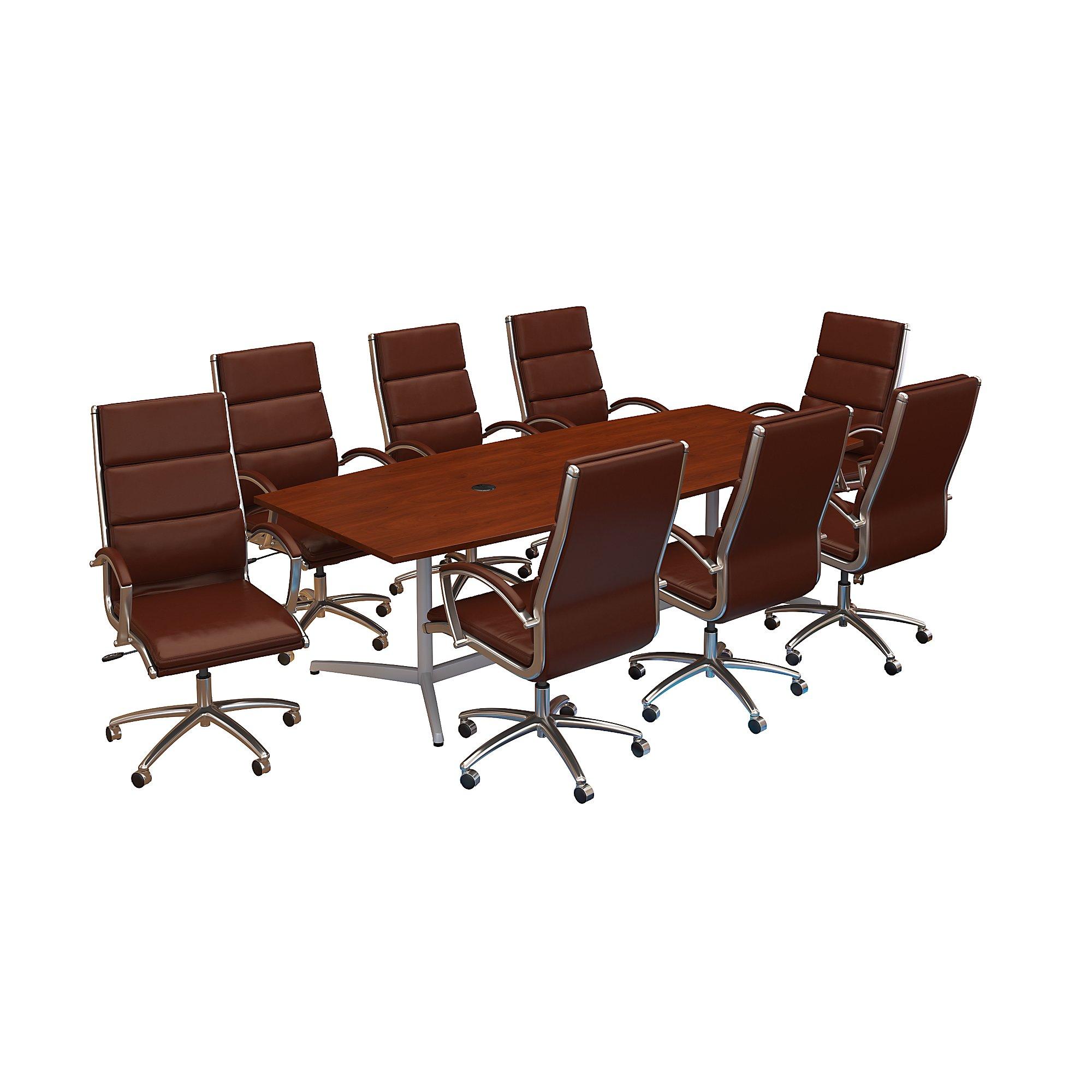 hansen cherry conference furniture set