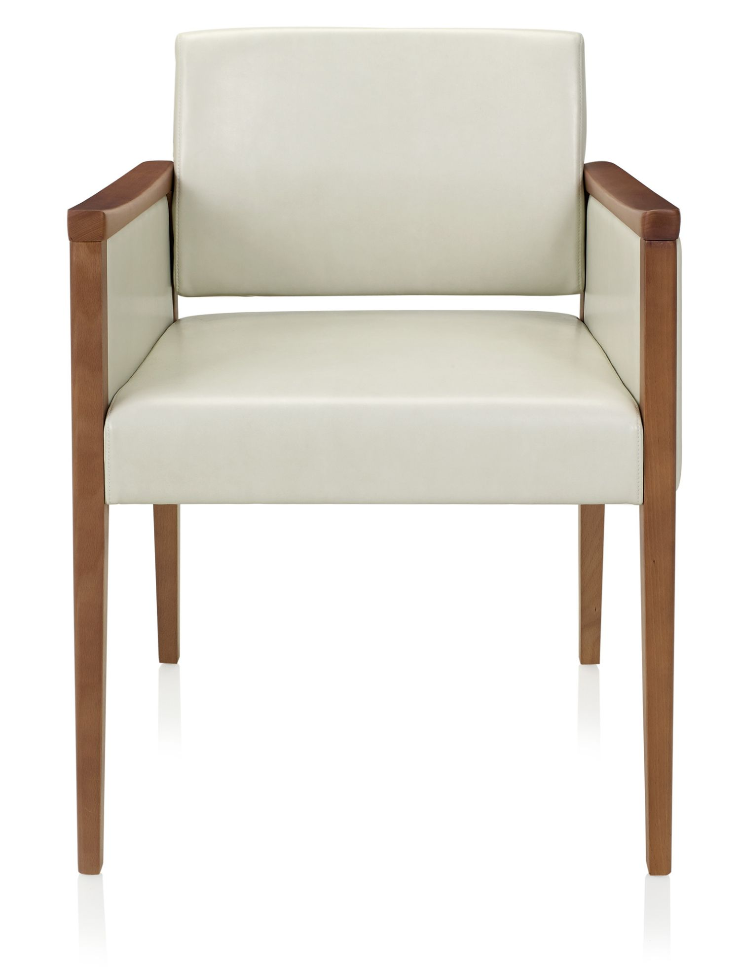ki affina closed arm guest chair - front