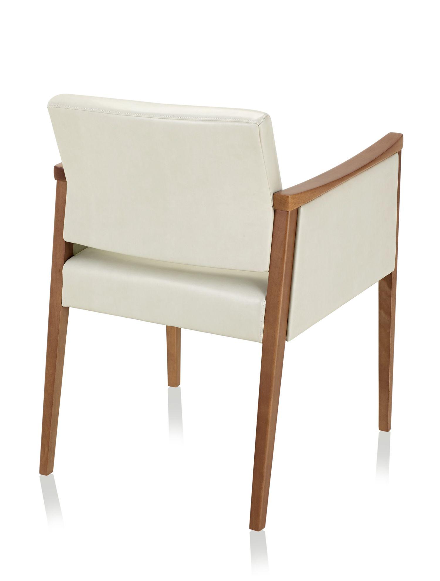 ki affina closed arm guest chair - back