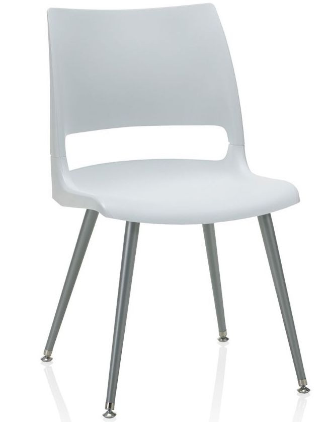 ki doni tapered steel leg guest chair