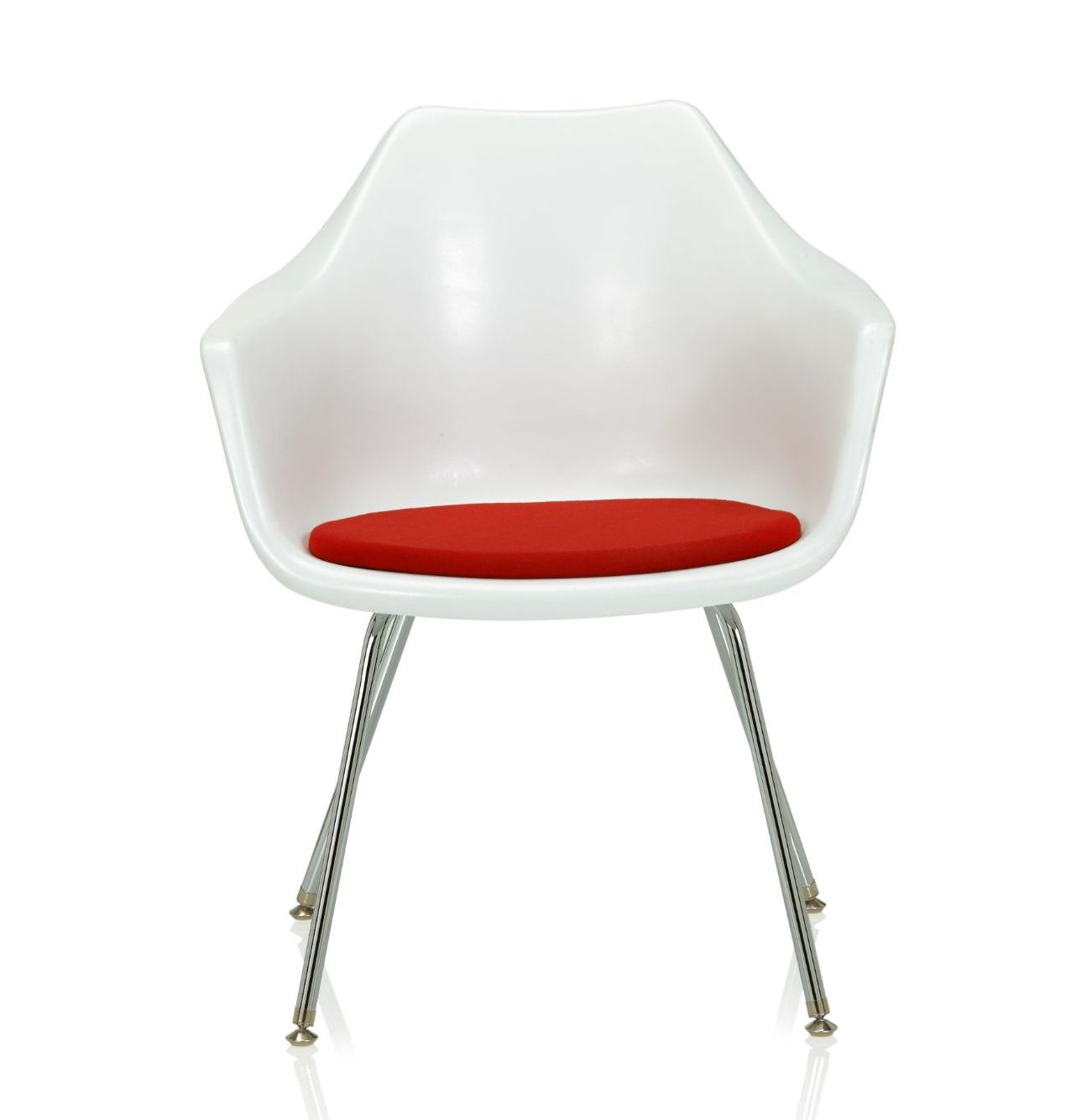 ki jubi guest chair - front view