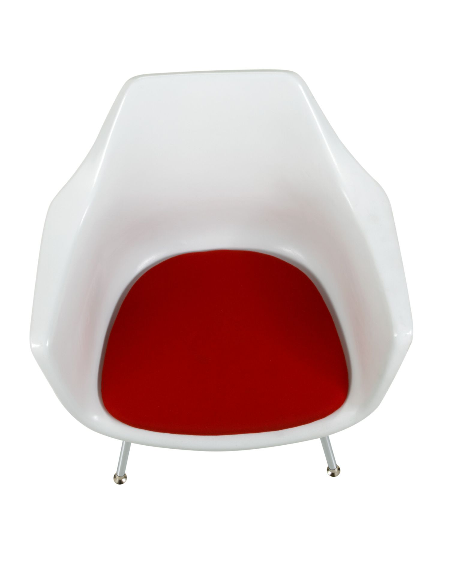 ki jubi guest chair - overhead view