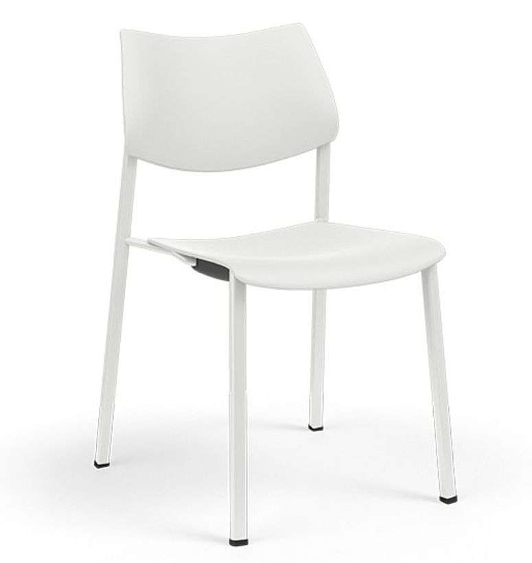 katera stackable polypropylene guest chair