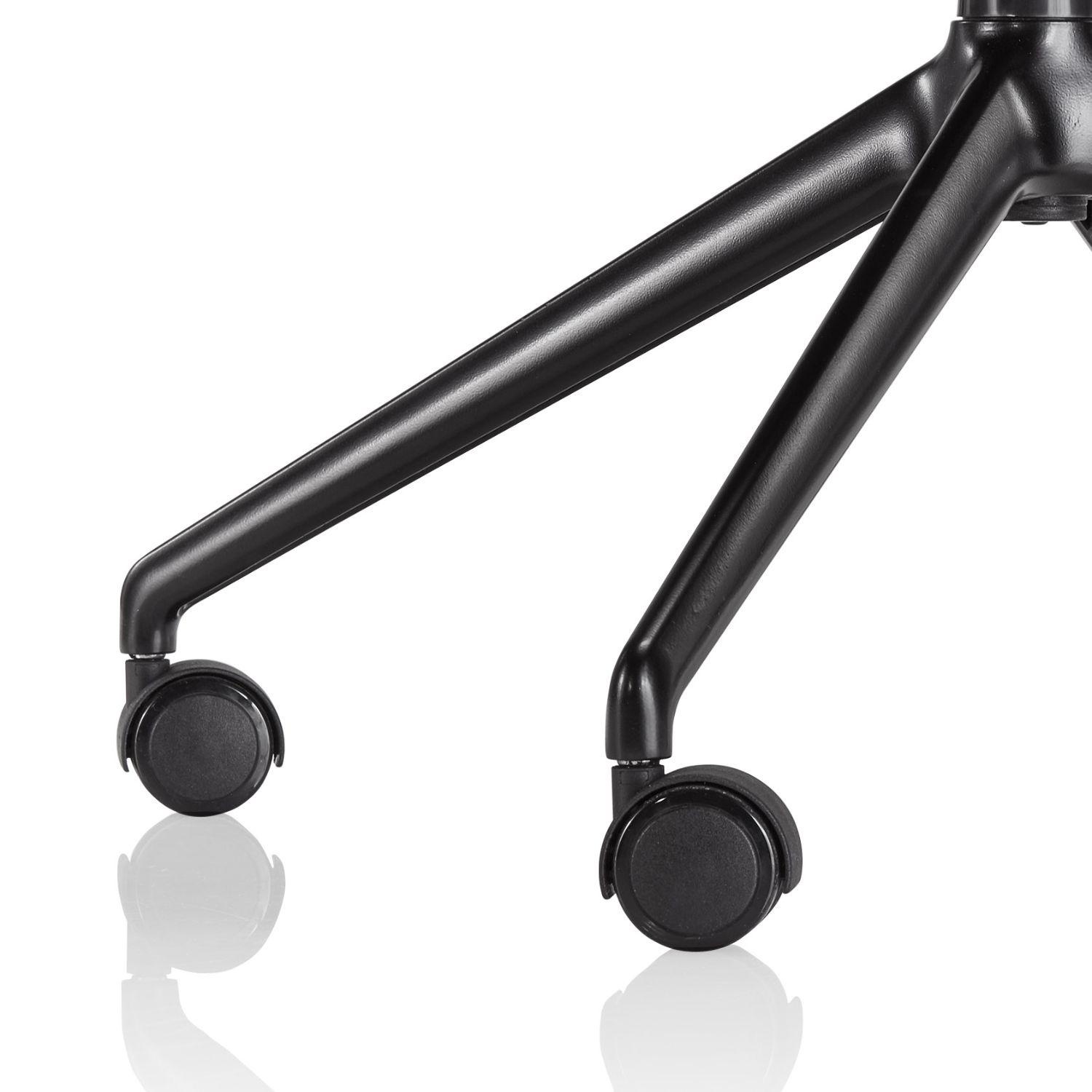 voz swivel base and casters