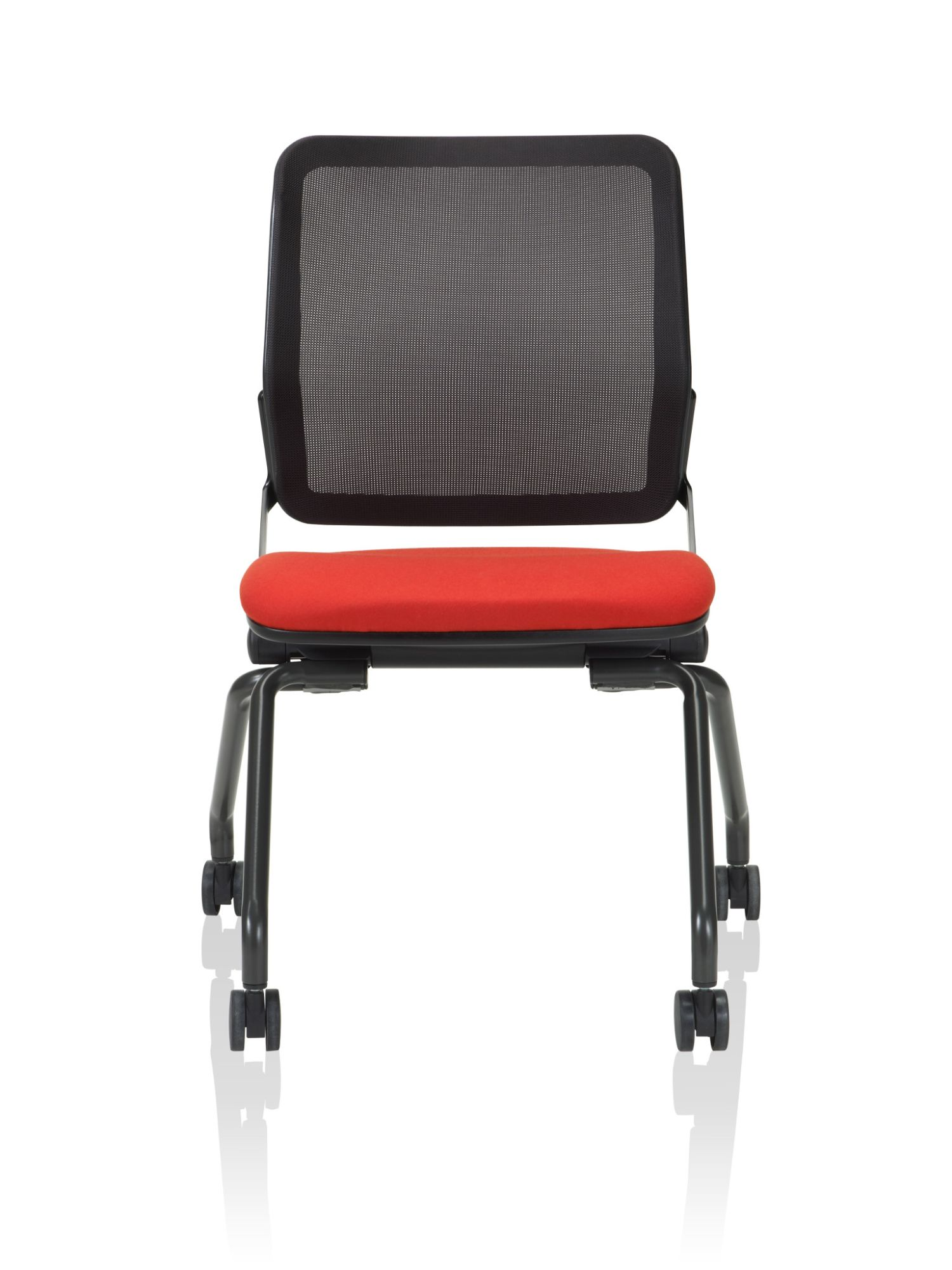 ki torsion air chair front profile