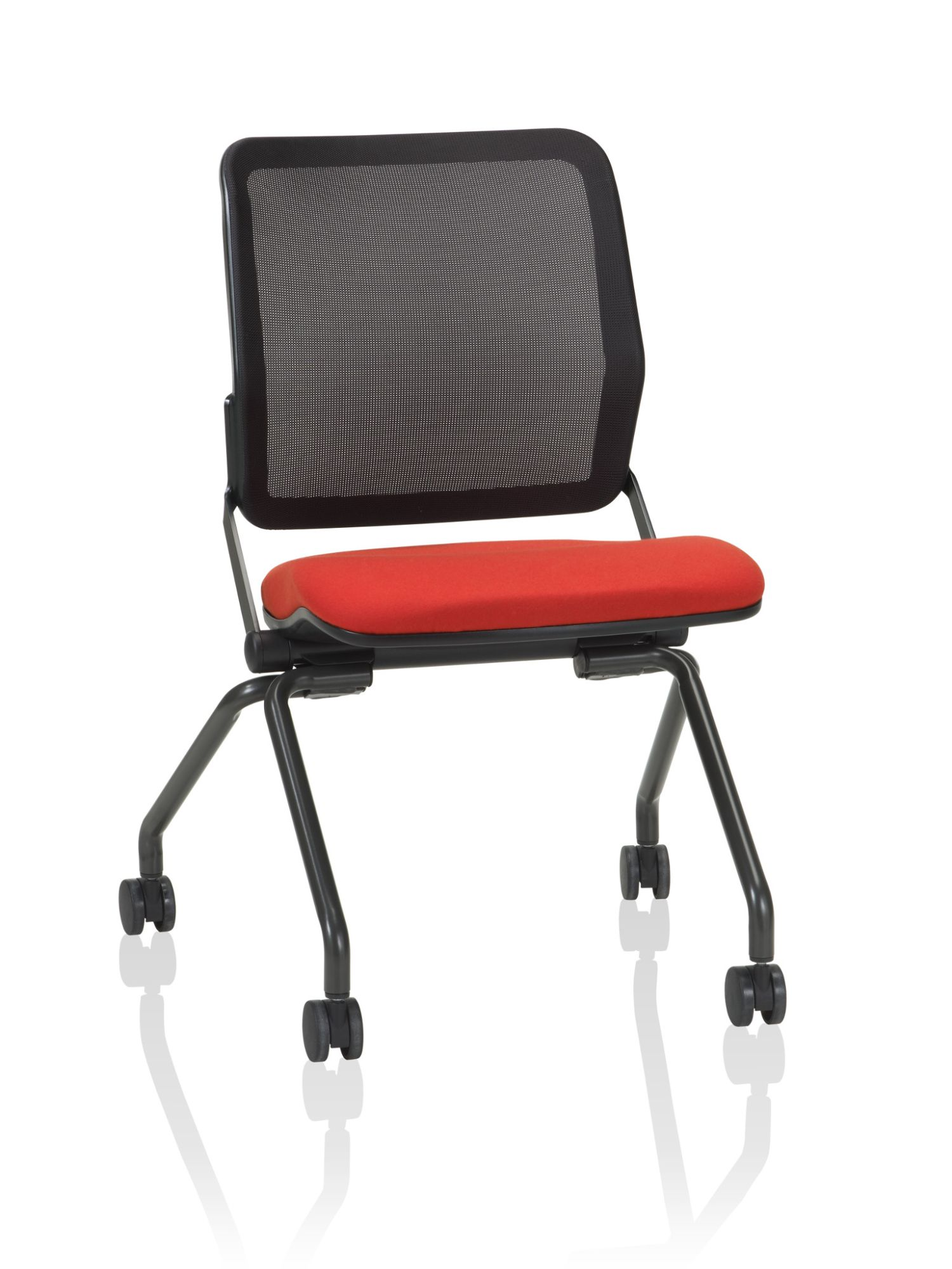 ki torsion air mesh back nesting chair