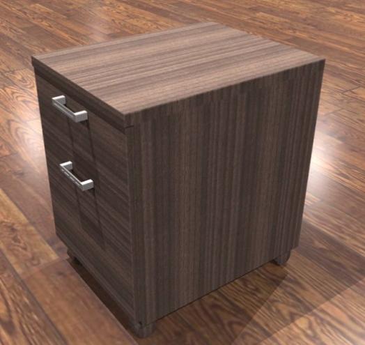 amber mobile desk pedestal