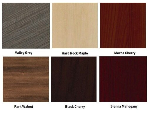 amber laminate finishes