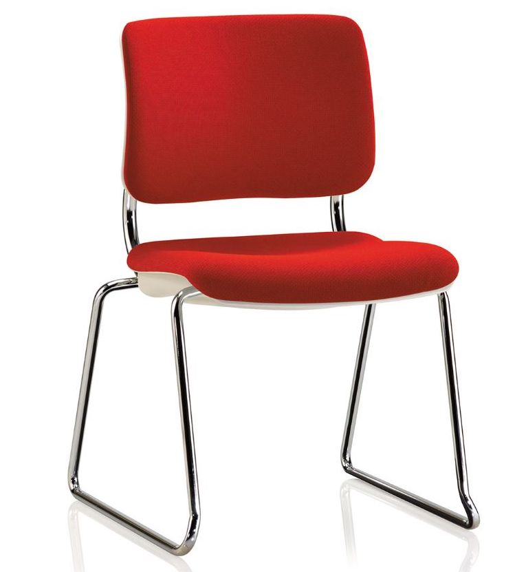 ki grazie upholstered stack chair