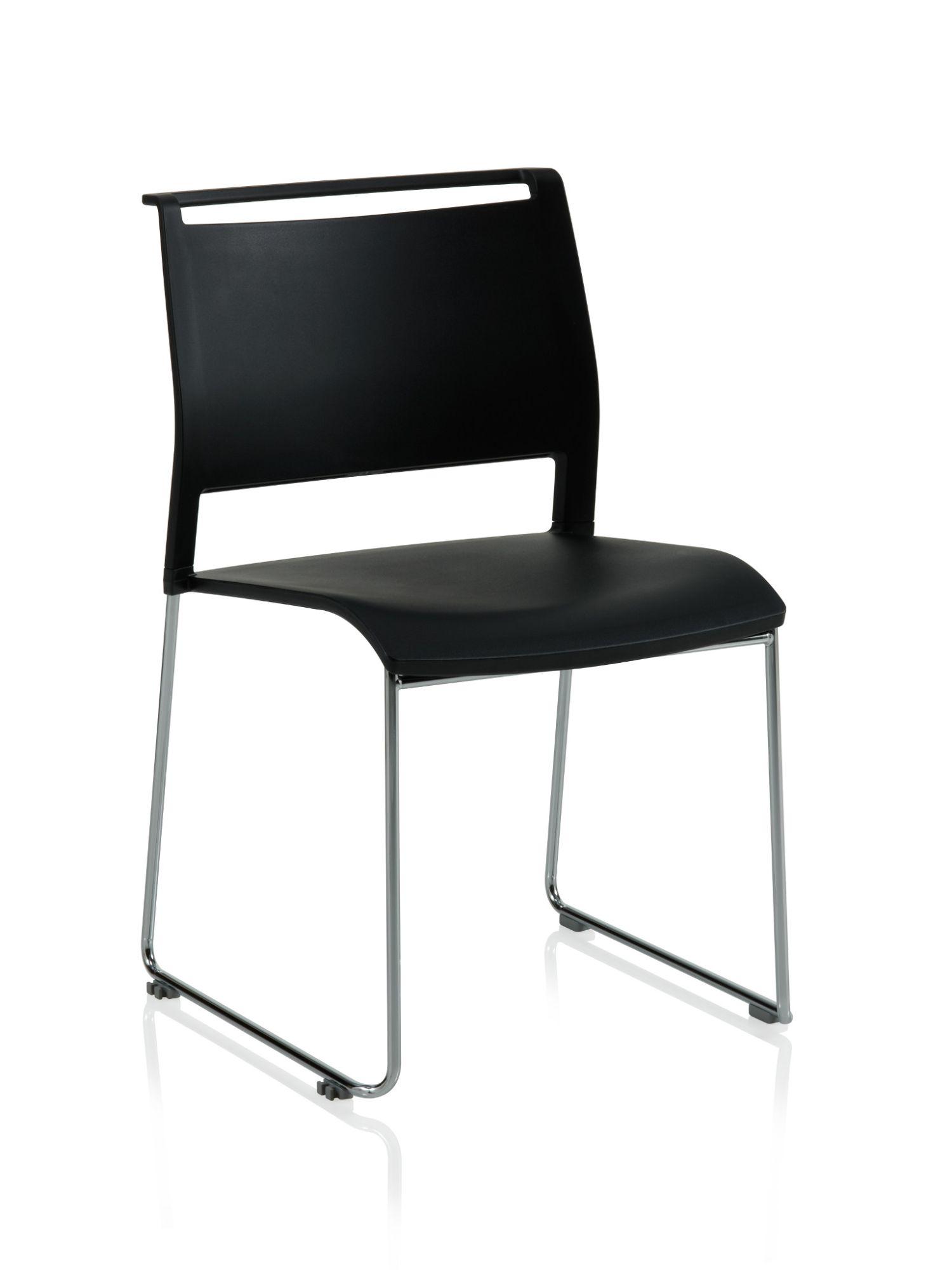 ki opt4 black high density stack chair