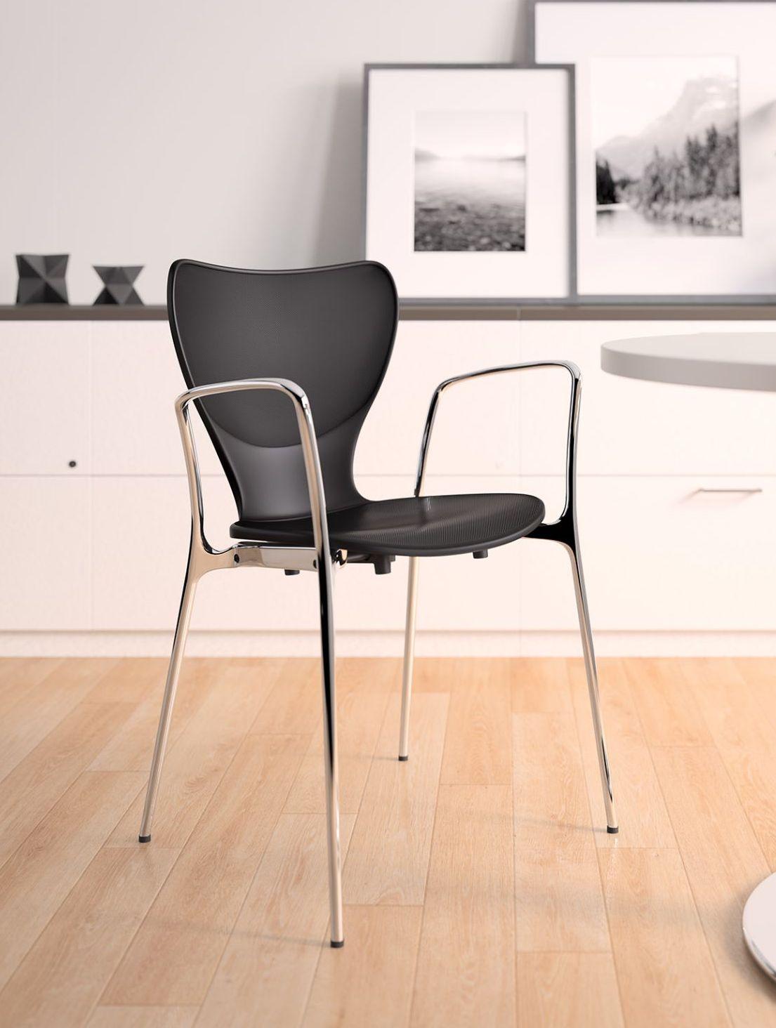 silhouette stack chair by ki