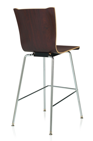 ki apply wood cafe stool