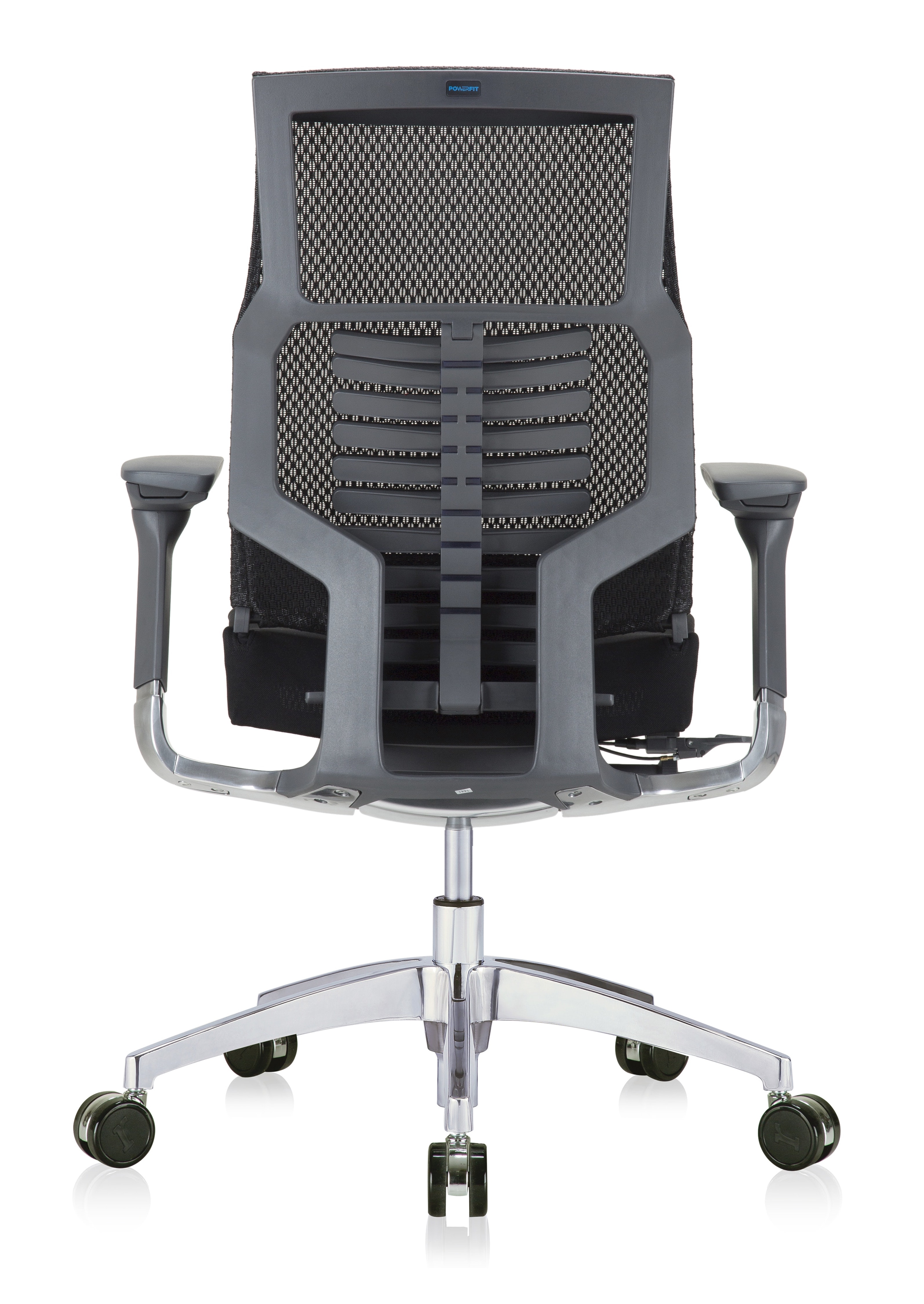 eurotech powerfit chair - back view