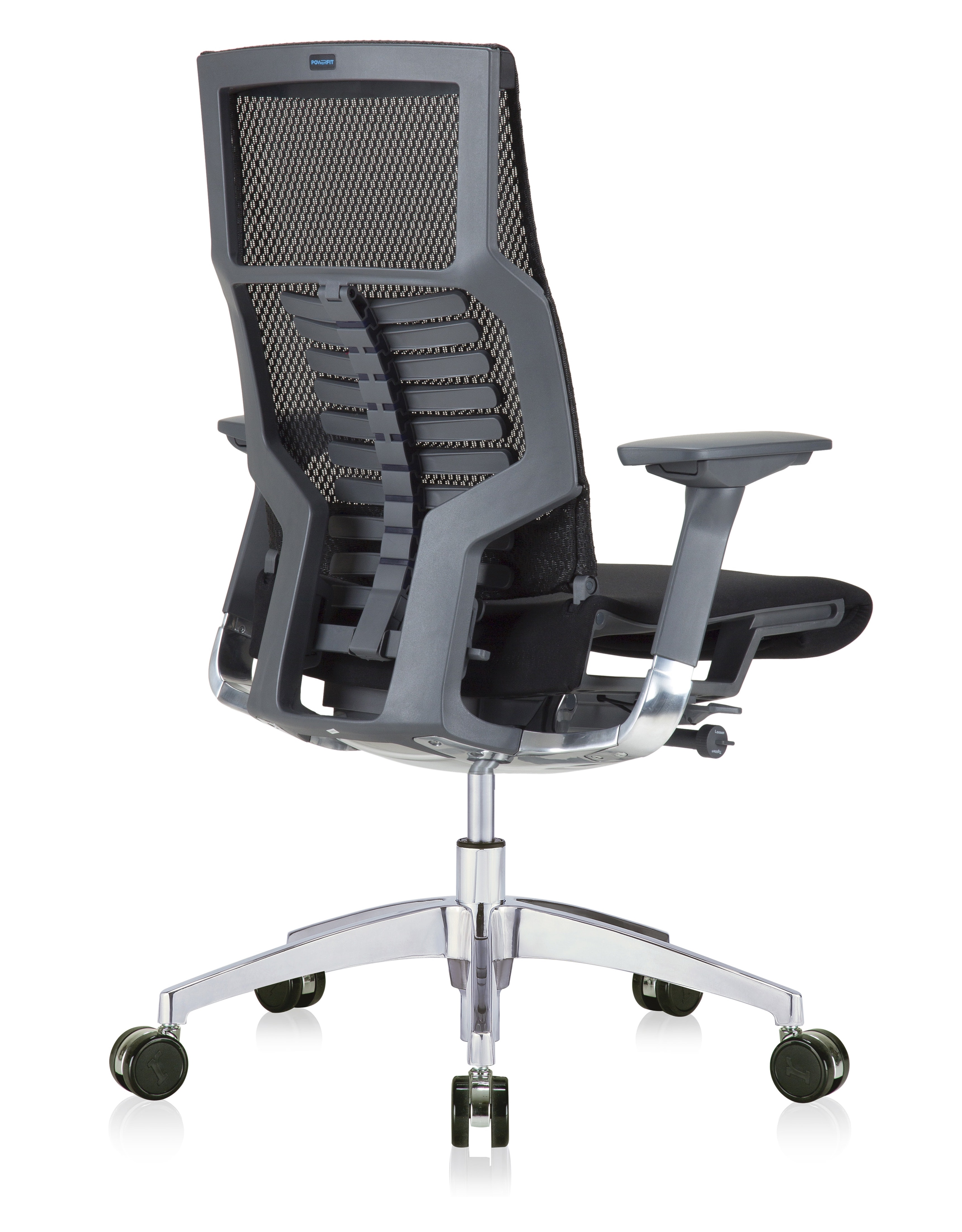 eurotech powerfit chair - side view
