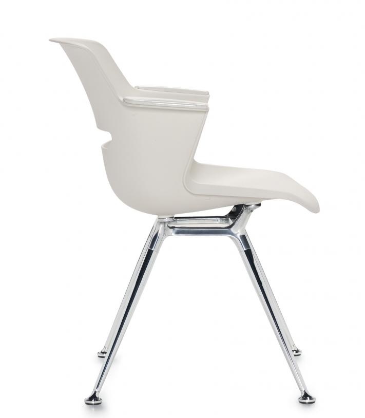 moda armchair side view