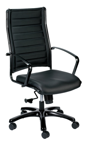 Eurotech Seating Europa High Back Office Chair with Metallic Frame