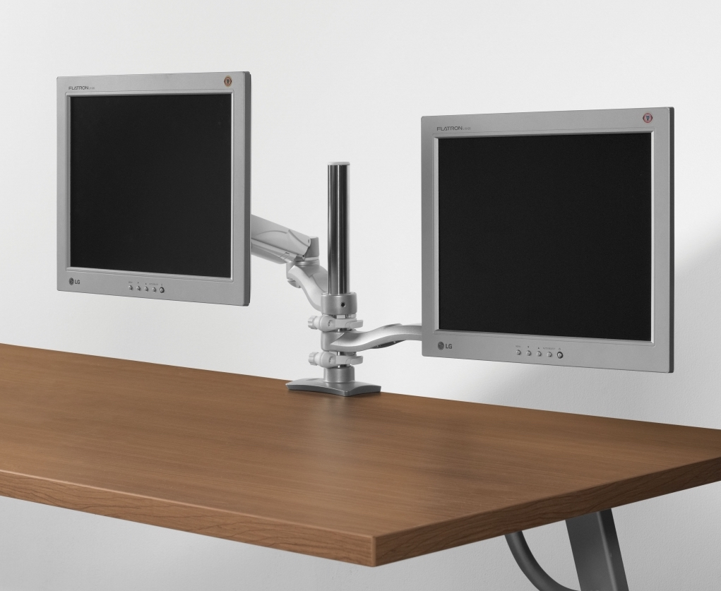 mon2sde dual screen double extension monitor arm