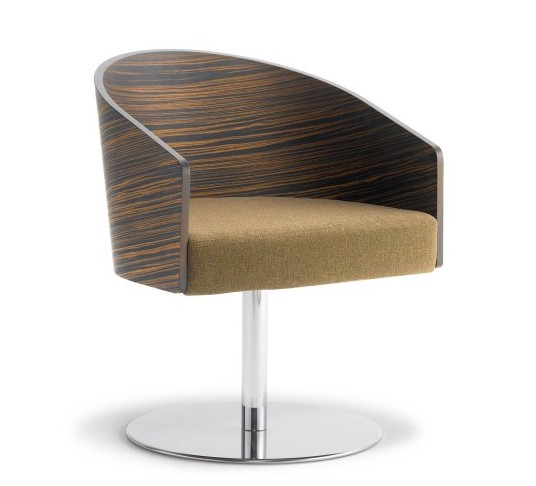 cape furniture luxurious curved wood back lounge chair