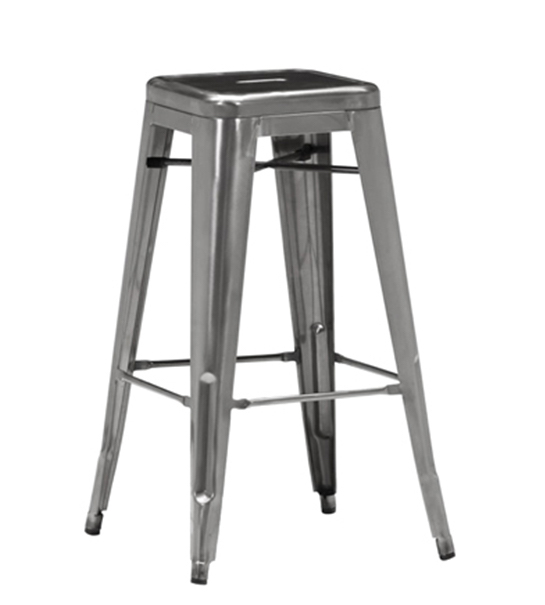 cali 956 backless metal bar stool