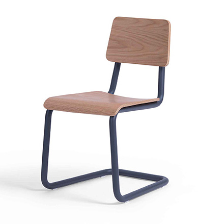 cape furniture dix cantilever side chair sd16010a