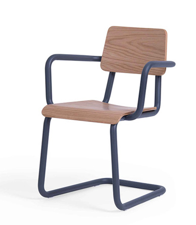 dix wood arm chair