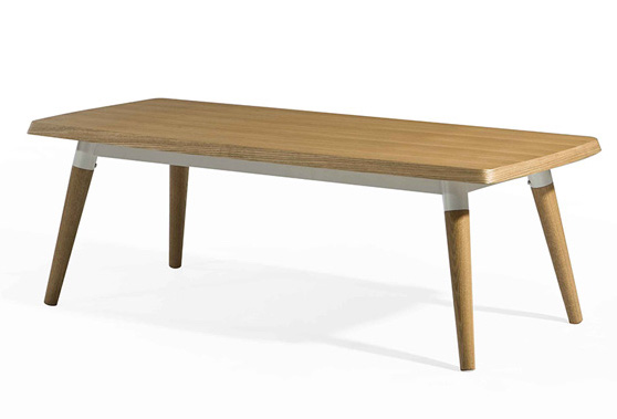 dix wood coffee table