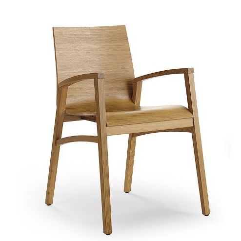 flex wood arm chair by cape furniture