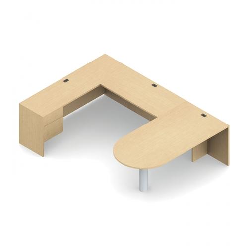 Global Adaptabilities Office Desk Configuration ADP506R
