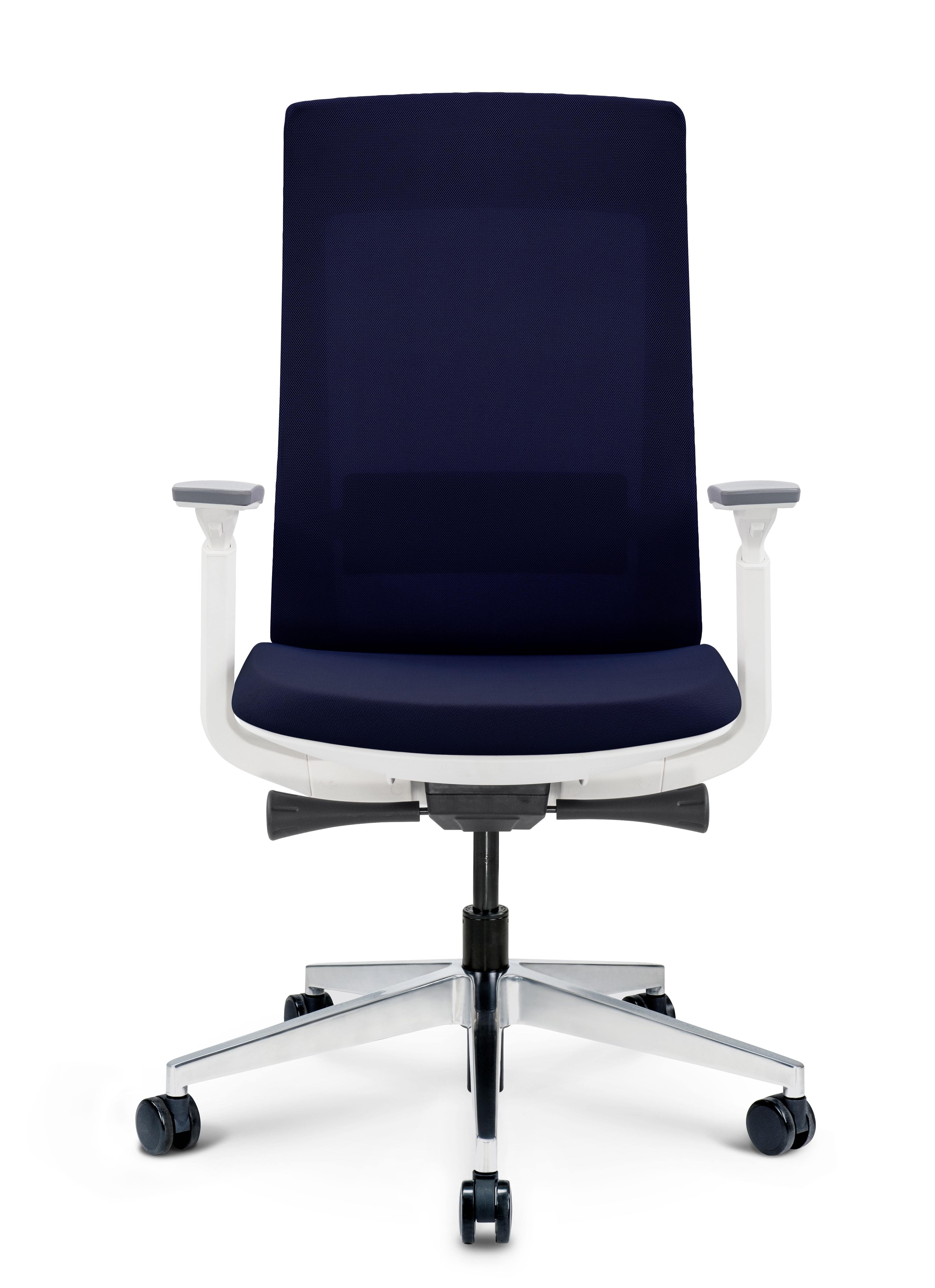blue elevate chair