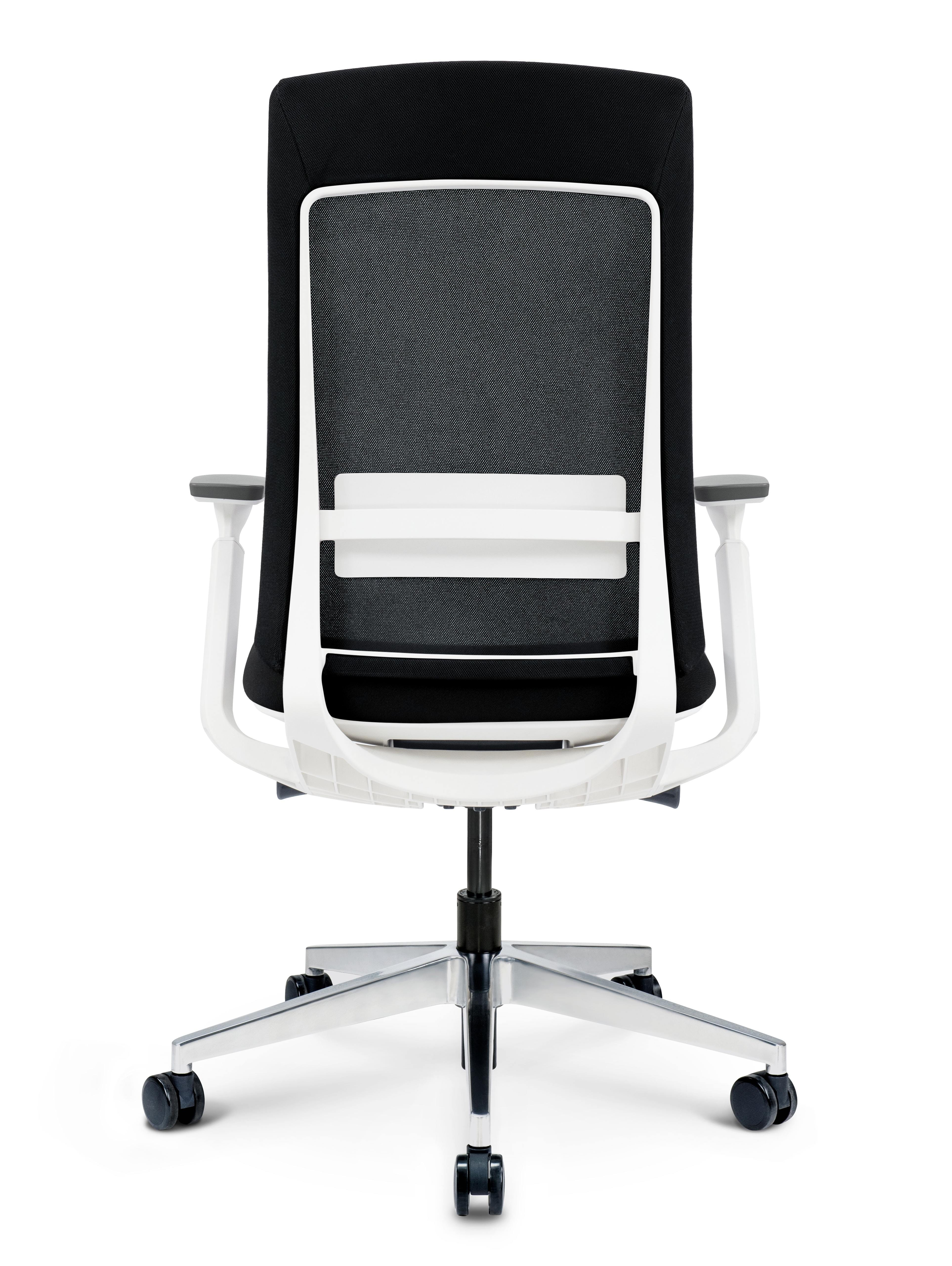 black elevate chair back