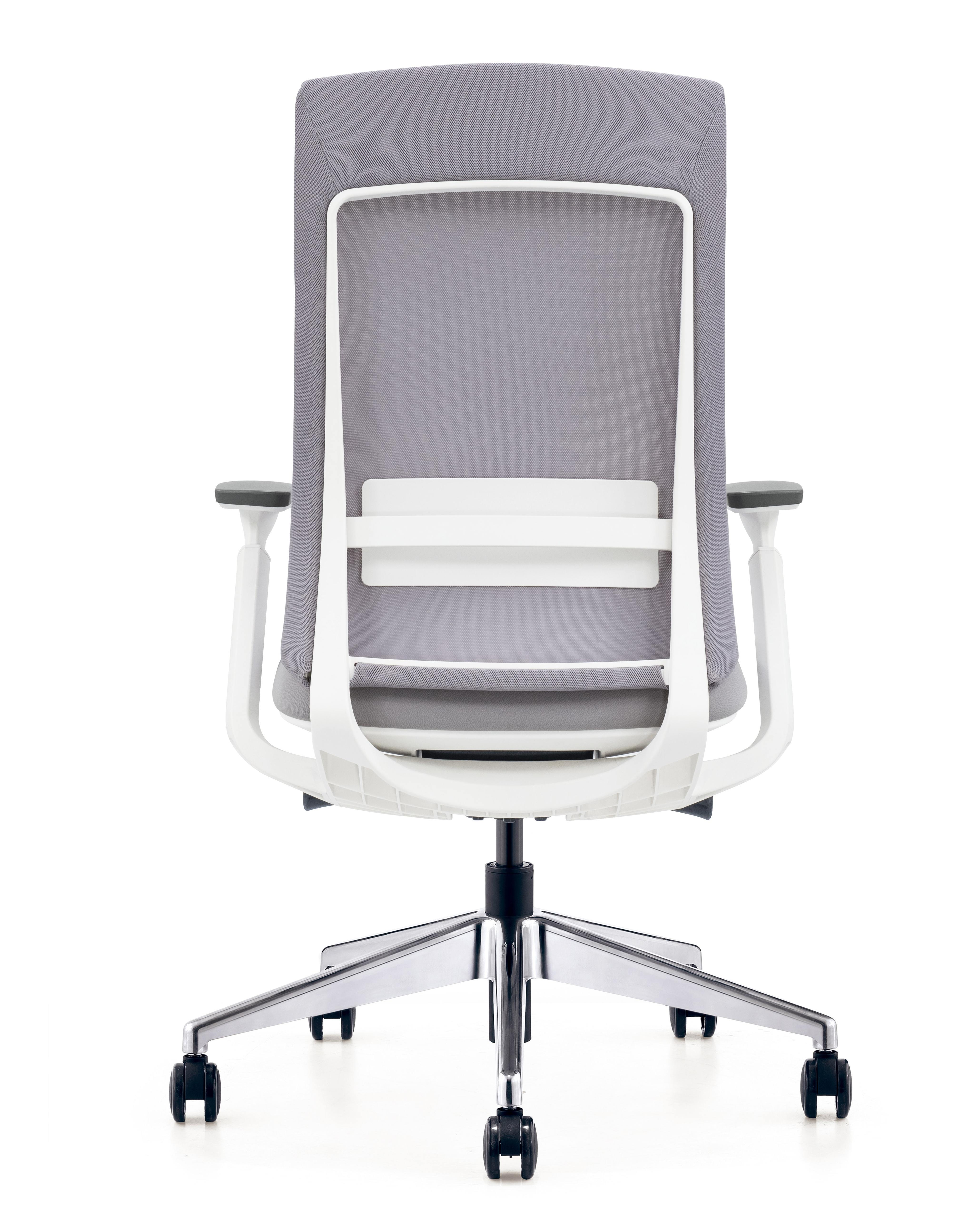 gray elevate chair back