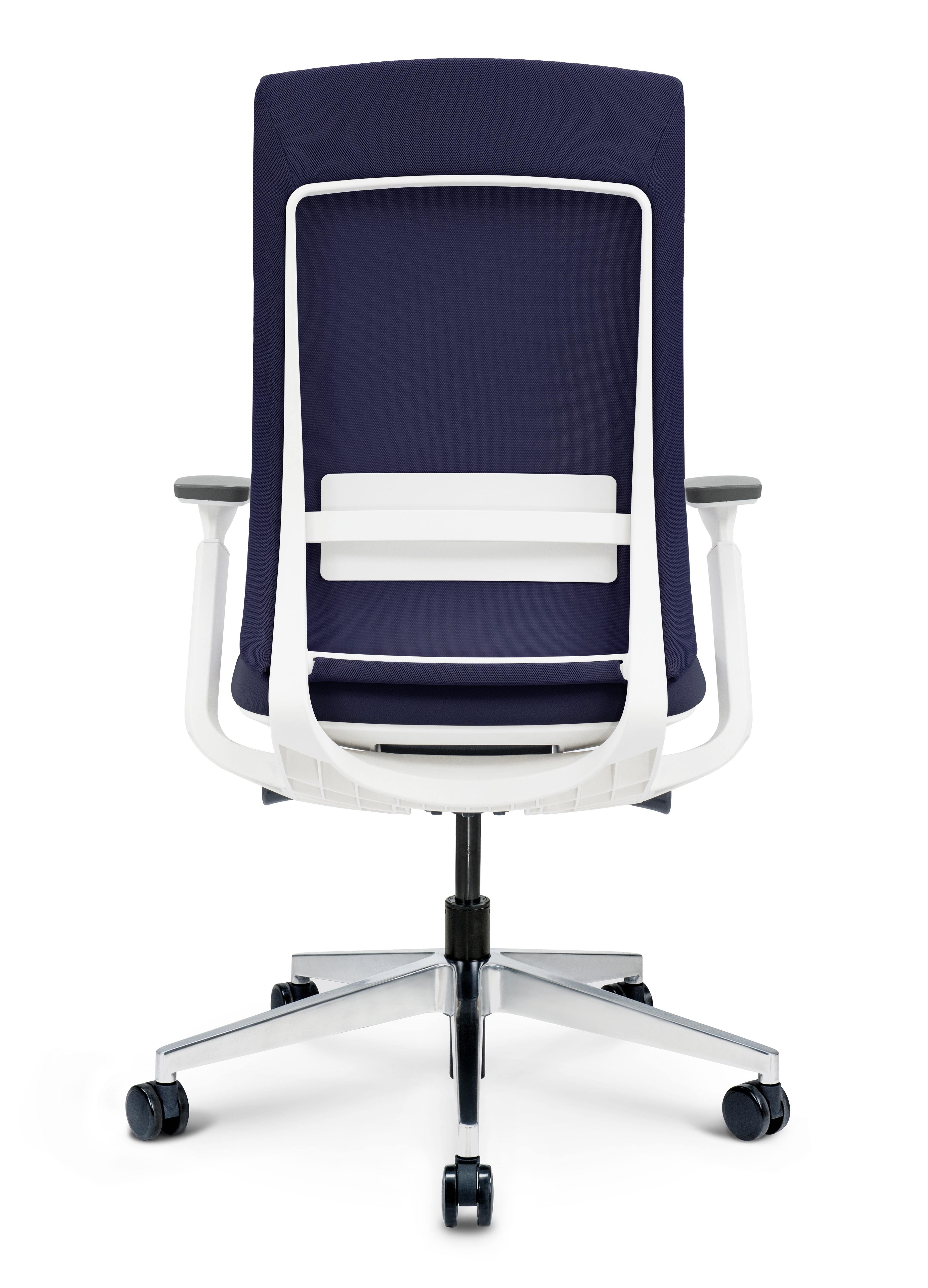 blue elevate chair back
