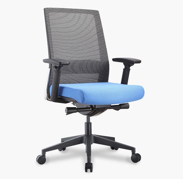 freeride task chair angled view