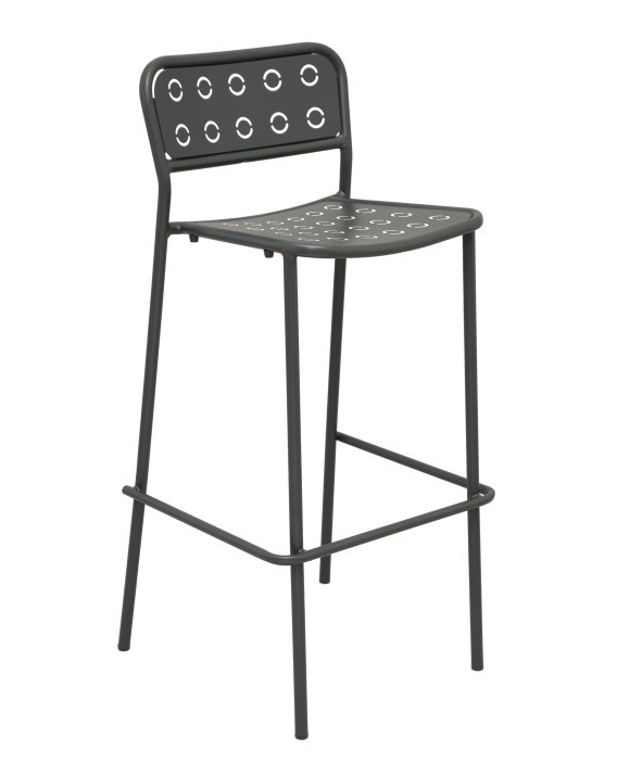 popsicle stackable metal bar stool