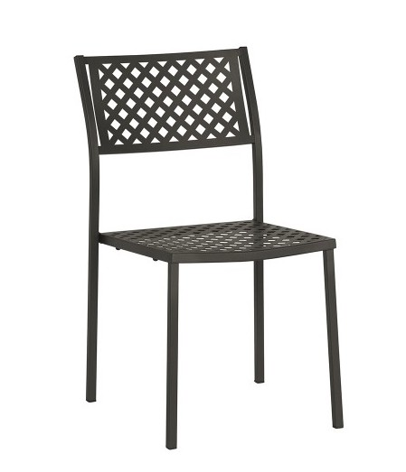 Cape Furniture Remy Armless Metal Stack Chair (4 Pack!)