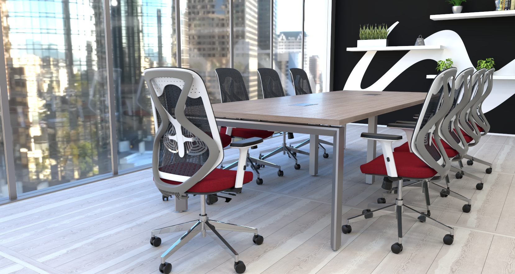 roswell chairs in conference room