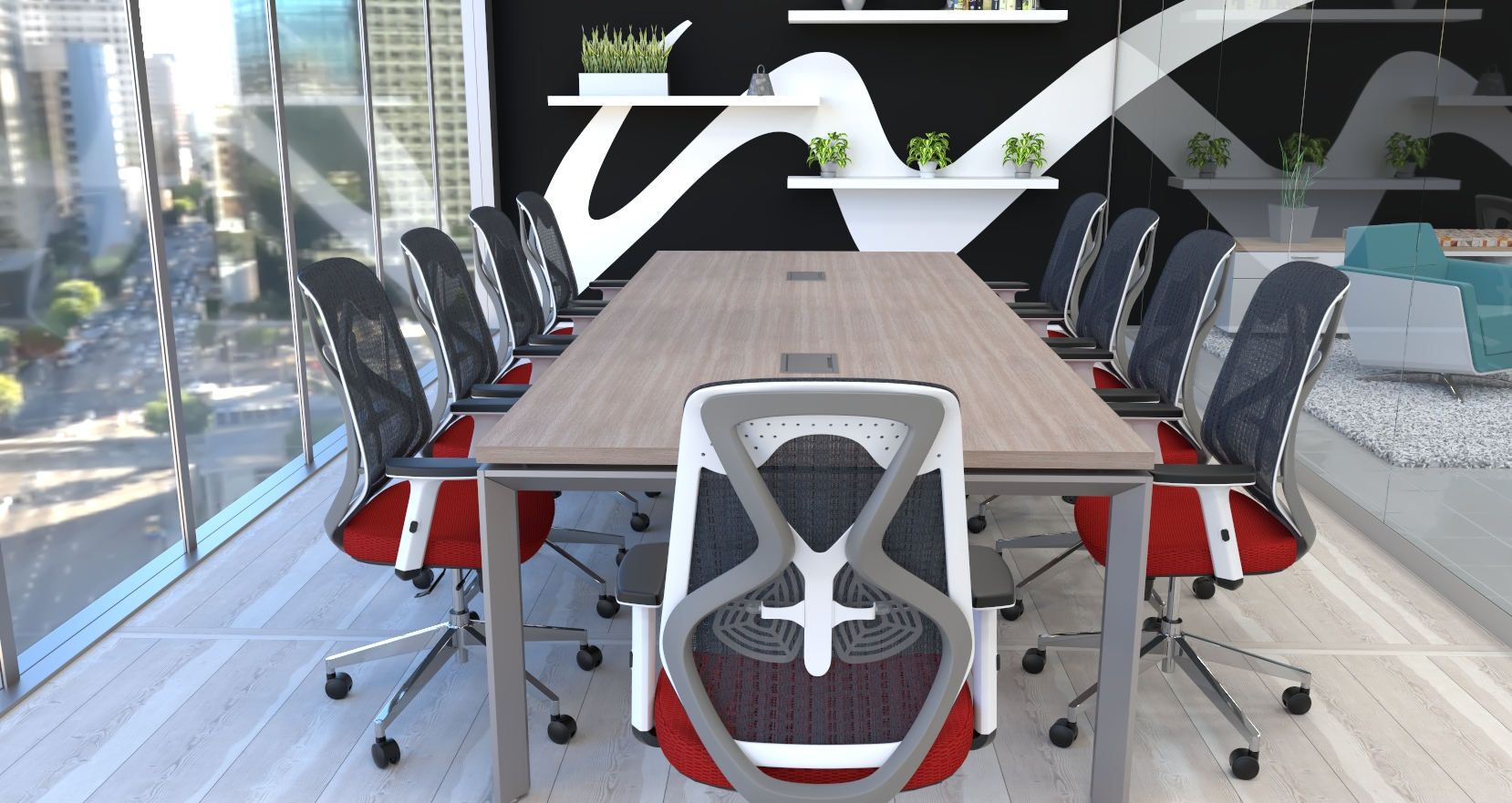 wyatt conference room with roswell chairs