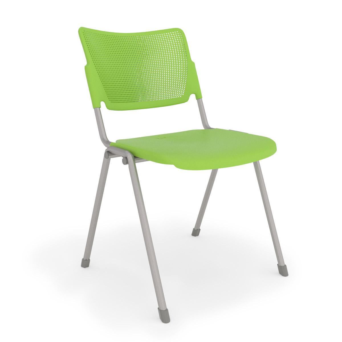 la mia green stack chair