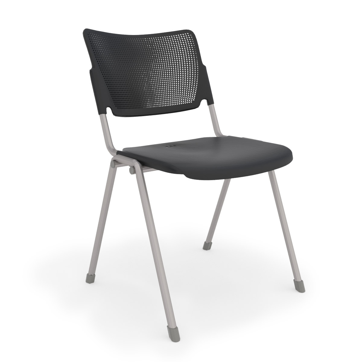 la mia black stack chair