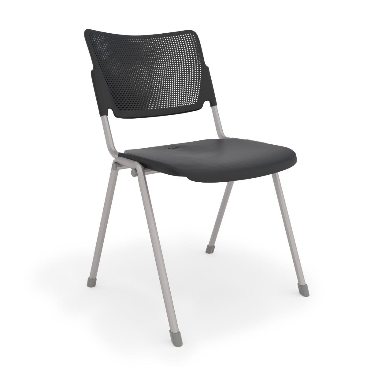 la mia black stack chair