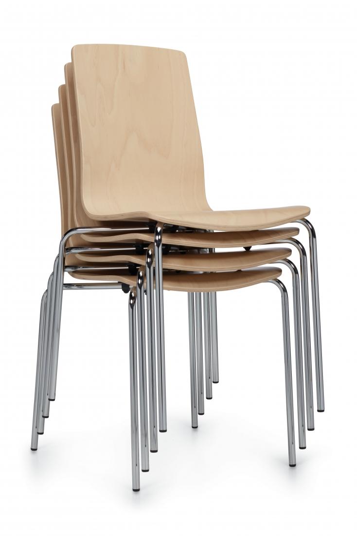 global sas stack chairs